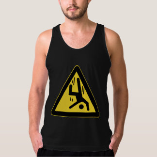 Danger Cliff, Chinese Sign Tank Top