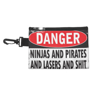 Danger! Clip-on bag Accessories Bags