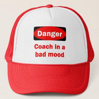 Danger! Coach In a Bad Mood Hat