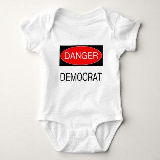 Danger - Democrat Funny Political T-Shirt Mug Hat
