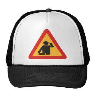 Danger DJs at Work Trucker Hat