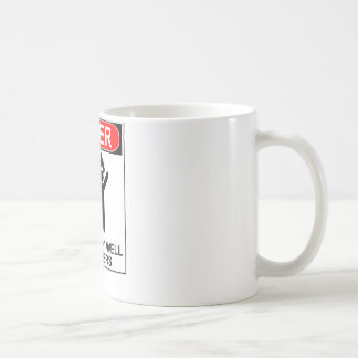 Danger: Doesn't Play Well With Others Coffee Mug