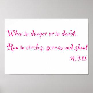 Danger:Doubt Poster Poster