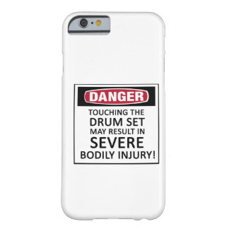 Danger Drum Set Barely There iPhone 6 Case