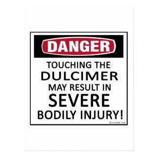 Danger Dulcimer Postcard