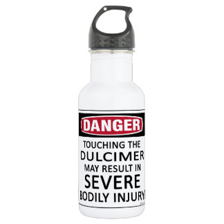 Danger Dulcimer Water Bottle