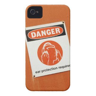 Danger! Ear protection required Case-Mate iPhone 4 Case