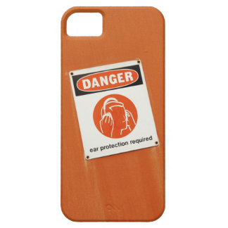 Danger! Ear protection required iPhone SE/5/5s Case