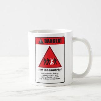 Danger! Eccentric Coffee Mug