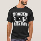 Danger Educated Black Man T-Shirt