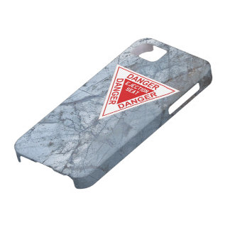 Danger - Ejection seat label iPhone 5 Case