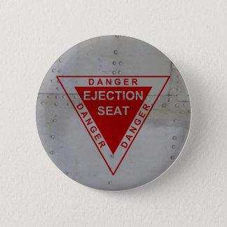 Danger - Ejection Seat Pinback Button