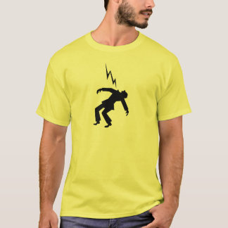 Danger!  Electrical Warning Sign T-Shirt