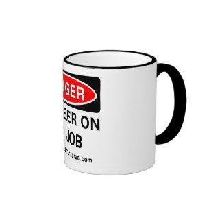 """Danger Engineer on the Job """"Beverage"""" Mug"""