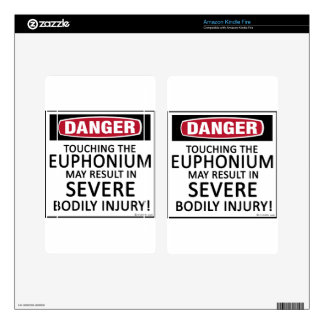 Danger Euphonium Decal For Kindle Fire