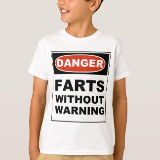 Danger Farts Without Warning T-Shirt