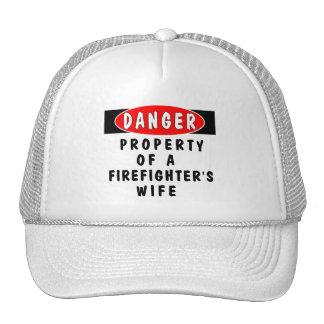 Danger!  FF Wife Trucker Hat