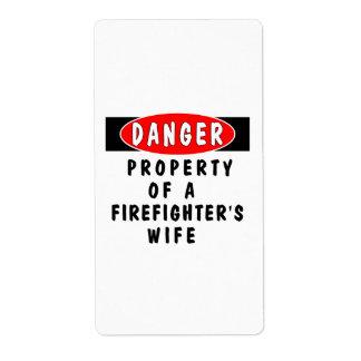Danger!  FF Wife Label