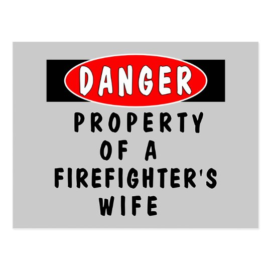 Danger!  FF Wife Postcard