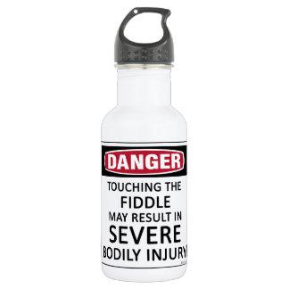 Danger Fiddle Stainless Steel Water Bottle