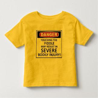 Danger Fiddle Toddler T-shirt