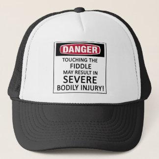 Danger Fiddle Trucker Hat