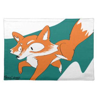 Danger Fox Placemat