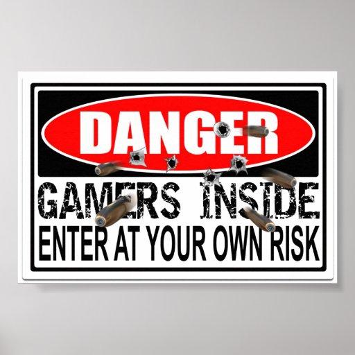 Danger Gamers Inside Poster