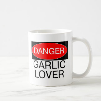Danger - Garlic Lover Funny T-Shirt Mug Hat Apron