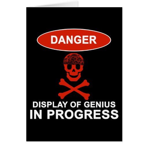 Danger Genius Card