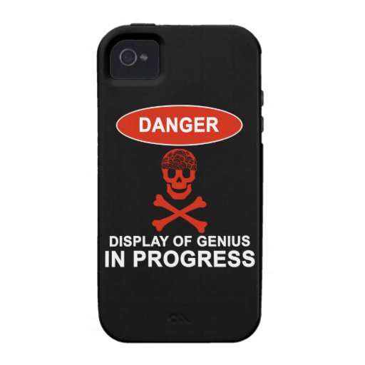 Danger Genius iPhone 4 Cover