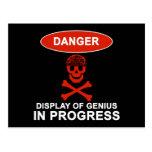 Danger Genius Postcard