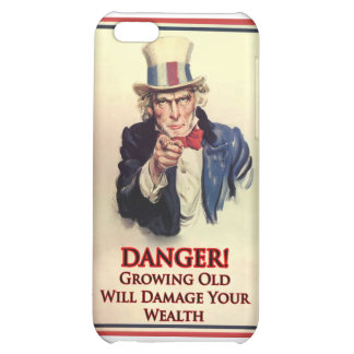 Danger Growing Old Uncle Sam Poster iPhone 5C Covers