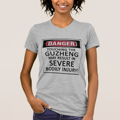 Danger Touching Guzheng T-Shirt