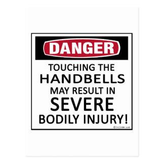 Danger Handbells Postcard