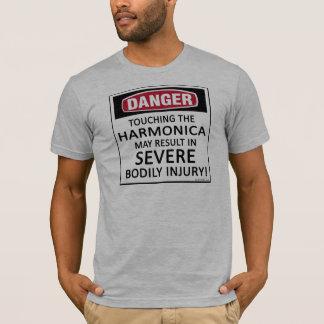 Danger Harmonica T-Shirt