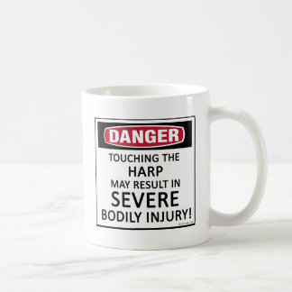 Danger Harp Coffee Mug