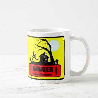 Danger: Haunted Graveyard Mug