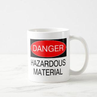 Danger - Hazardous Material Funny Safety T-Shirts Coffee Mug