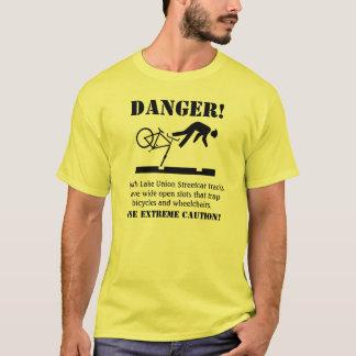 DANGER! Hazardous Tracks T-Shirt