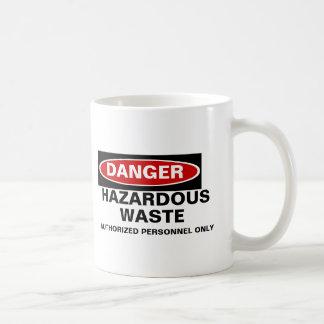 Danger Hazardous Waste mug