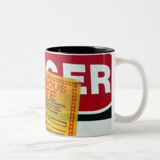 Danger Hazardous Waste Mugs