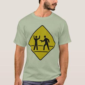 Danger High Crime Area T-Shirt