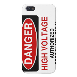 Danger High Voltage Cover For iPhone SE/5/5s