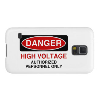 Danger High Voltage Galaxy S5 Cover