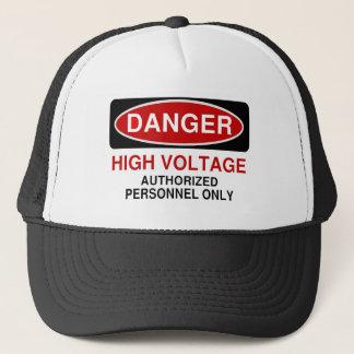 Danger High Voltage Trucker Hat