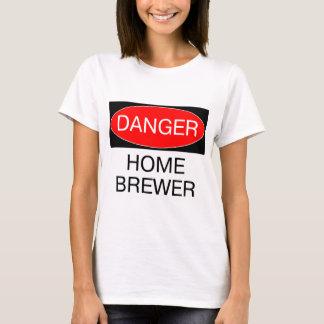 Danger - Home Brewer Funny T-Shirt Hat Mug Bag