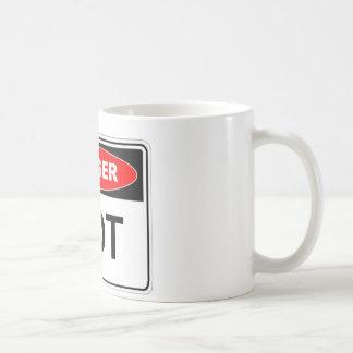 Danger Hot Coffee Mug
