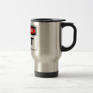 Danger Hot Travel Mug