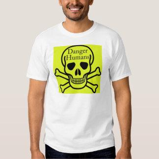 Danger humans t-shirt